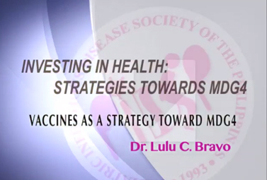 Vaccines As a Strategy Towards MDG 4