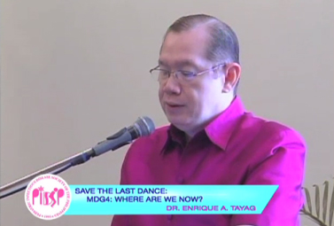 Save the Last Dance: MDG4: Where are we now?